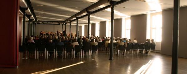 Saal der Kulturfabrik Hainburg