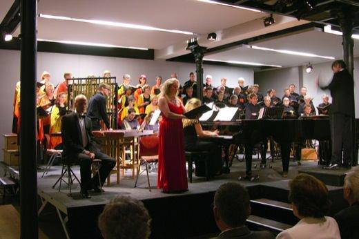 September 2011, Carmina Burana, Gröbner/Trisko, Karwautz, Leutgeb, Schola Cantorum